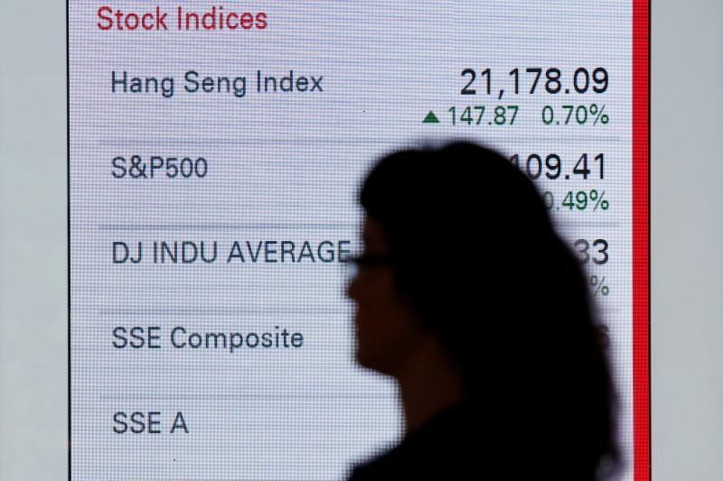 © Reuters.  La Bolsa de Hong Kong no opera hoy por el festivo de Año Nuevo