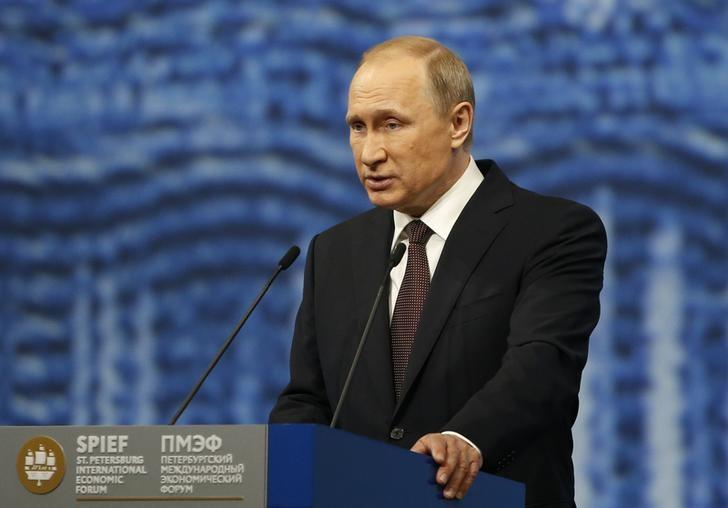 © Reuters.  Путин: Каспийский саммит поможет развитию регионального сотрудничества