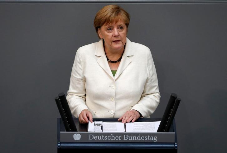 © Reuters.  Temos responsabilidade em conseguir um Brexit estruturado, diz Merkel