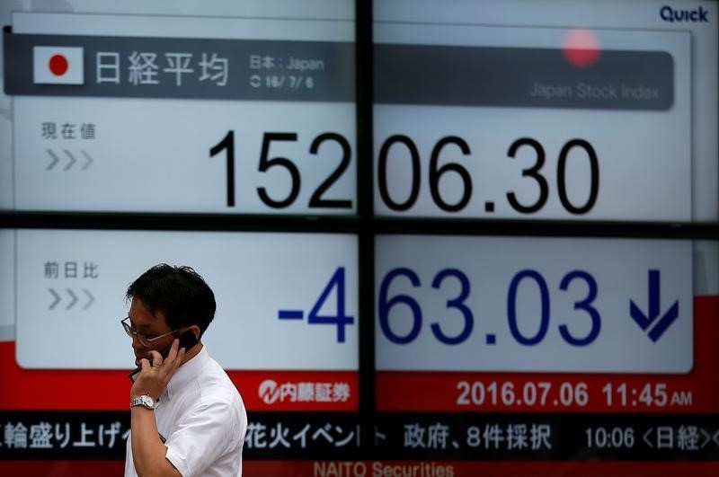 Japan stocks higher at close of trade; Nikkei 225 up 0.99%