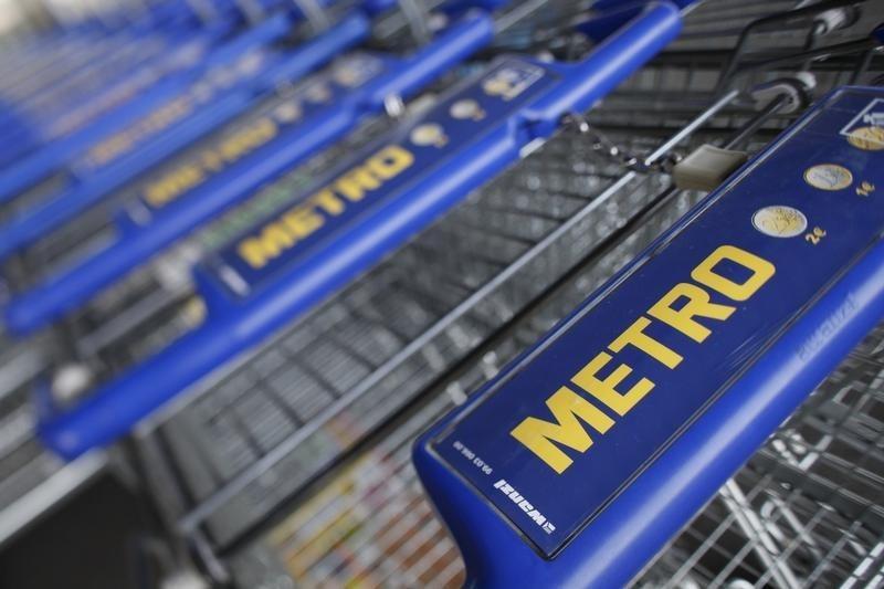 © Reuters.  Metro сократил выручку в России на 19,5%