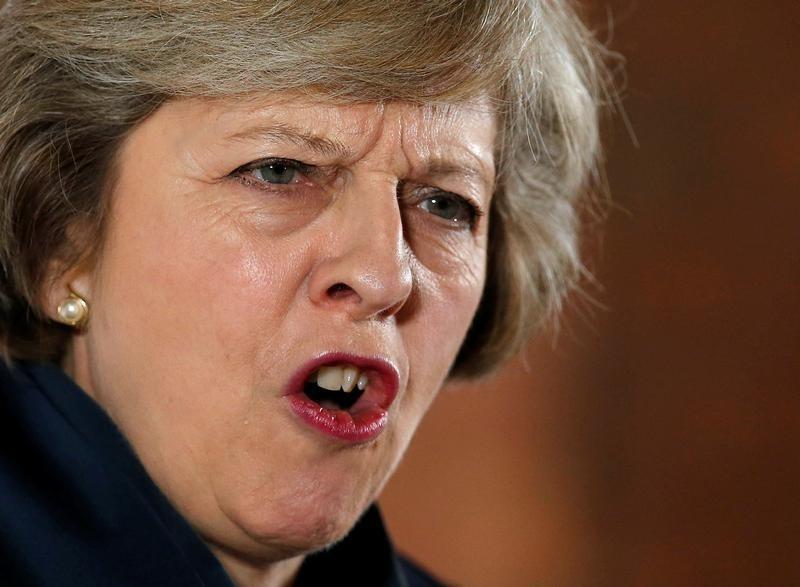 © Reuters.  Brexit: La banca enfila su postura en contra de Theresa May