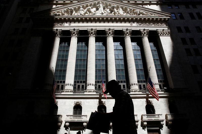 U.S. stocks higher at close of trade; Dow Jones Industrial Average up 1.36%