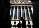 U.S. stocks lower at close of trade; Dow Jones Industrial Average down 0.80%