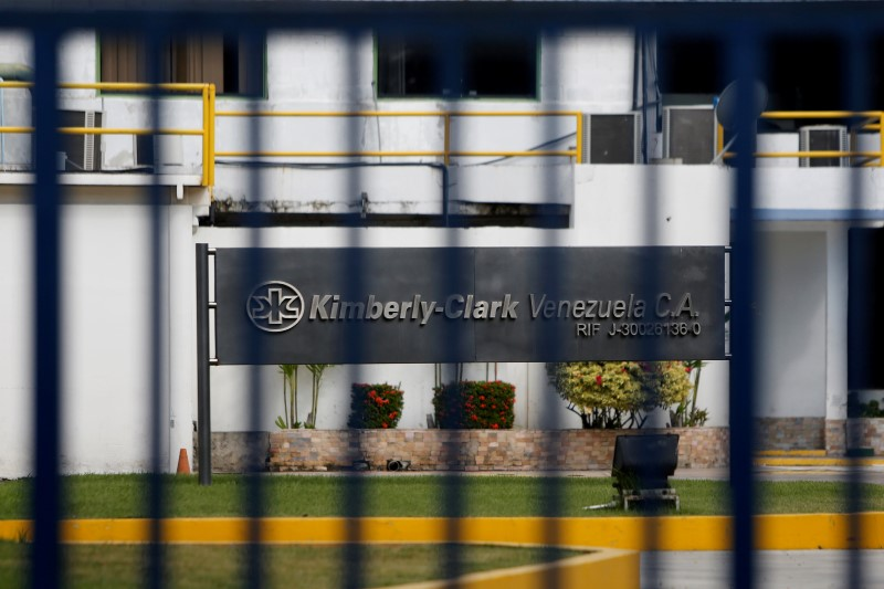 © Reuters. Kimberly-Clark Earnings, Revenue Beat in Q4