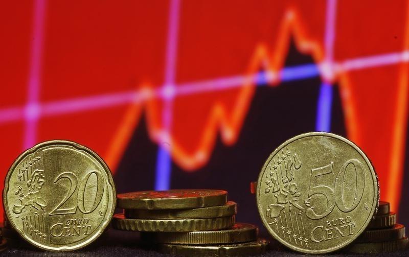 © Reuters.  Devisen: Euro gibt trotz robuster Daten nach