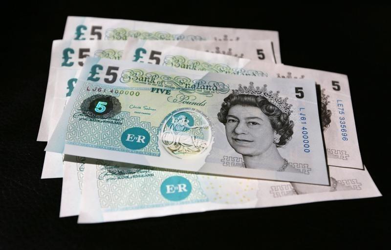 Pound Under Pressure as U.K Services Suffer Worst Month Ever