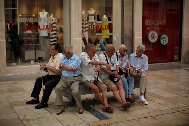 © Reuters.  AIReF:subir pensión con IPC tendría un coste de más de 7.000 millones en 2023