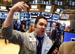 Stocks - Dow Posts Triple-Digital Gain on Signs of Trade Progress