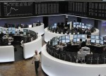 European shares inch lower as healthcare stocks drag