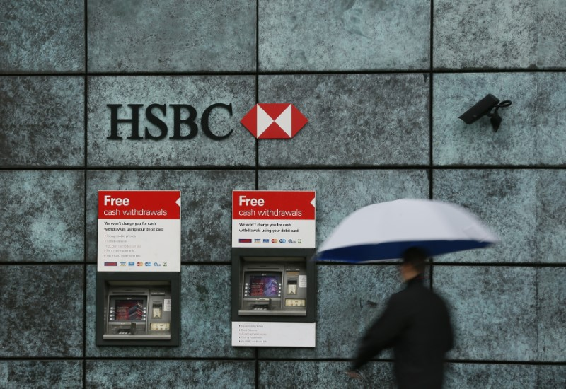 © Reuters. HSBC Earnings, Revenue Miss in Q3