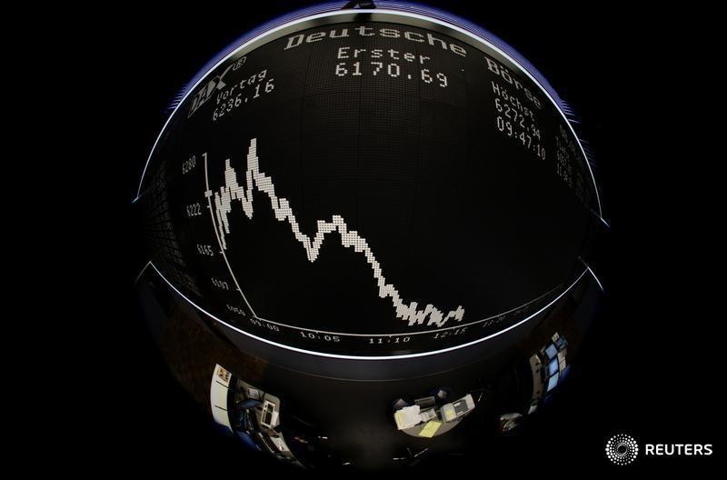 © Reuters.  Allemagne: Les marchés actions finissent en hausse; l'indice DAX gagne 0,36%