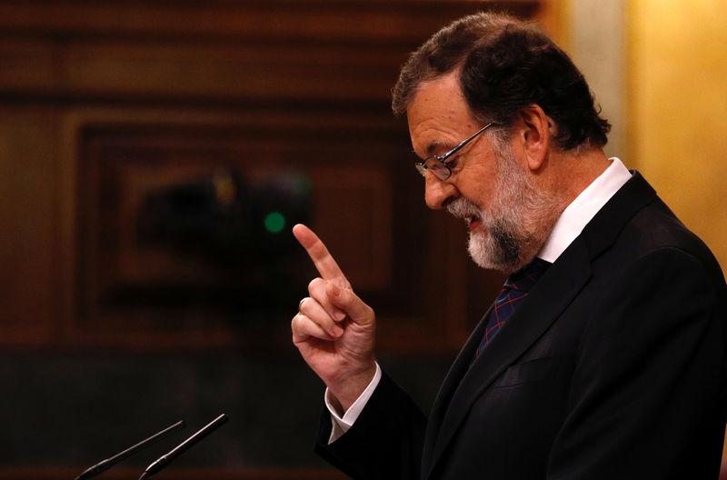 © Reuters.  Rajoy: