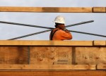 UPDATE 1-Canadian building permits rise for first time in three months