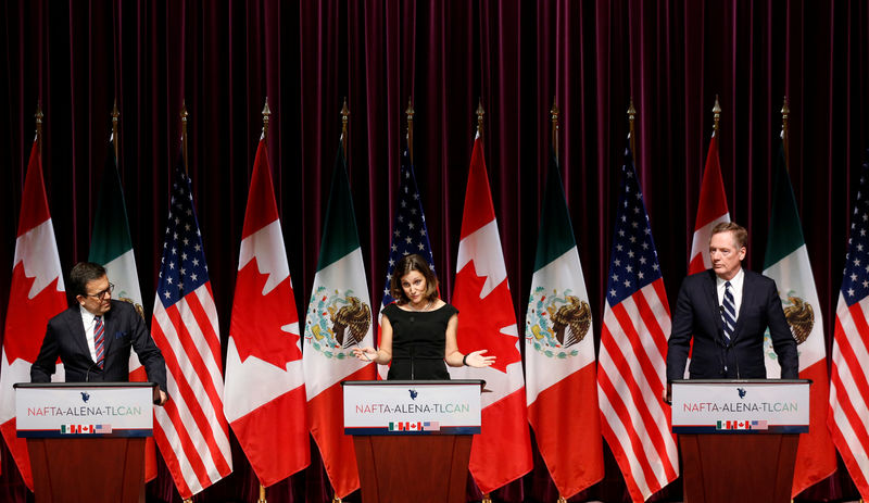 © Reuters.  Trump's Nafta Rewrite Gets Signoffs; Senate to Vote in 2020