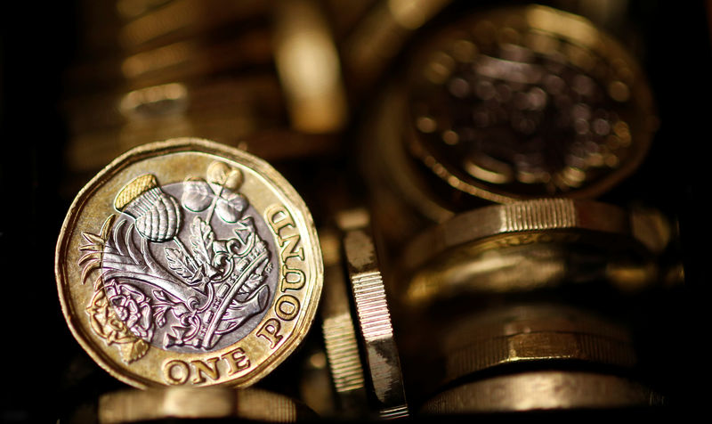 © Reuters.  Sterling hits day's lows as UK unemployment rises