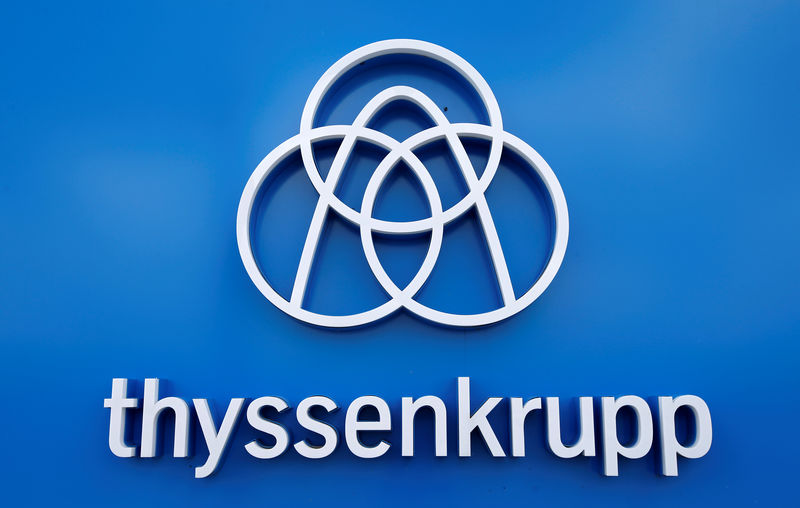 © Reuters.  Thyssenkrupp looking to close value gap in Tata Steel JV-sources