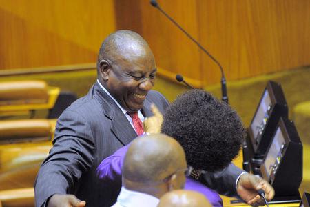 Ramaphosa Pays Glowing Tribute To Hlongwa