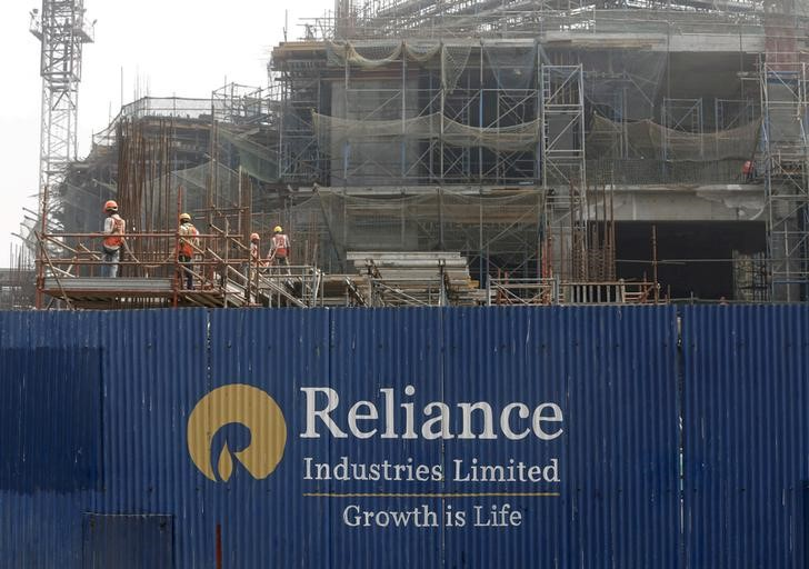 Indian shares end higher; Reliance Industries touches record high By R