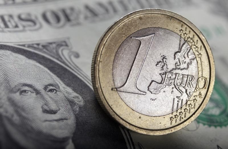 © Reuters.  Forex - EUR/USD naik pada akhir sesi AS