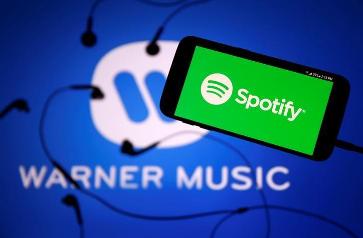 © Reuters. Spotify Tech Earnings, Revenue Beat in Q3