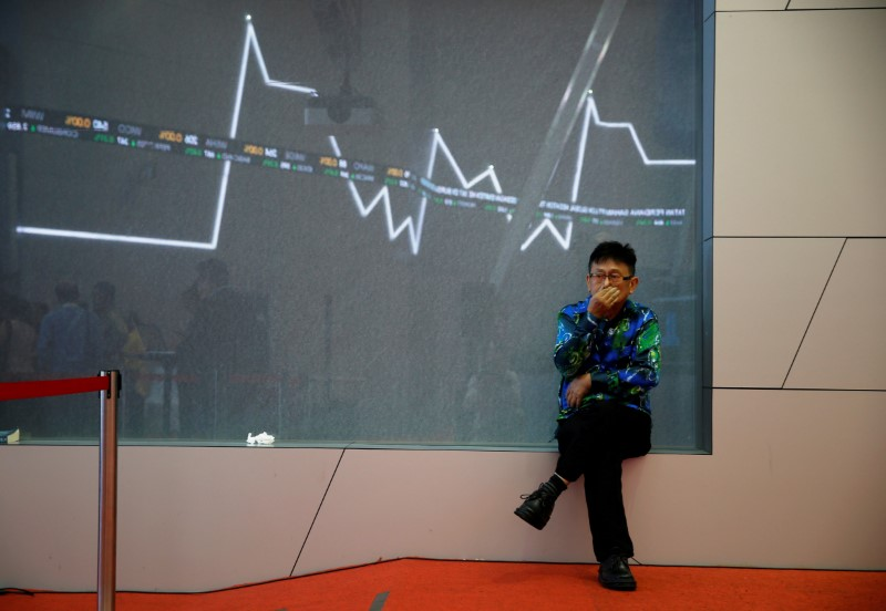 © Reuters.  Indonesia stocks lower at close of trade; IDX Composite Index down 0.01%