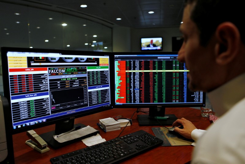 © Reuters.  Saudi Arabia stocks lower at close of trade; Tadawul All Share down 0.46%