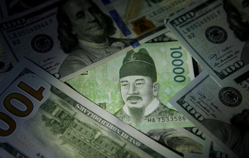 © Reuters.  정정-北 협상 중단 발언 이후 달러/원 급등..장중 4개월래 최고