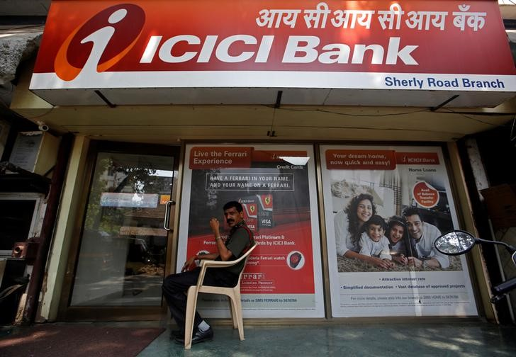 ICICI Bank Falls 3.17% By Investing.com