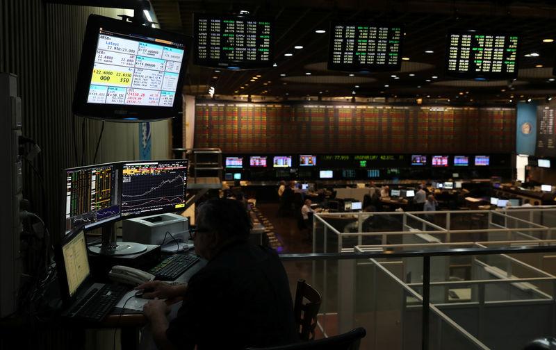 © Reuters.  La Bolsa de Buenos Aires baja un 0,91 % y el riesgo país sube