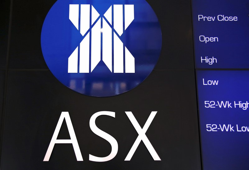 © Reuters.  Australia stocks higher at close of trade; S&P/ASX 200 up 0.37%