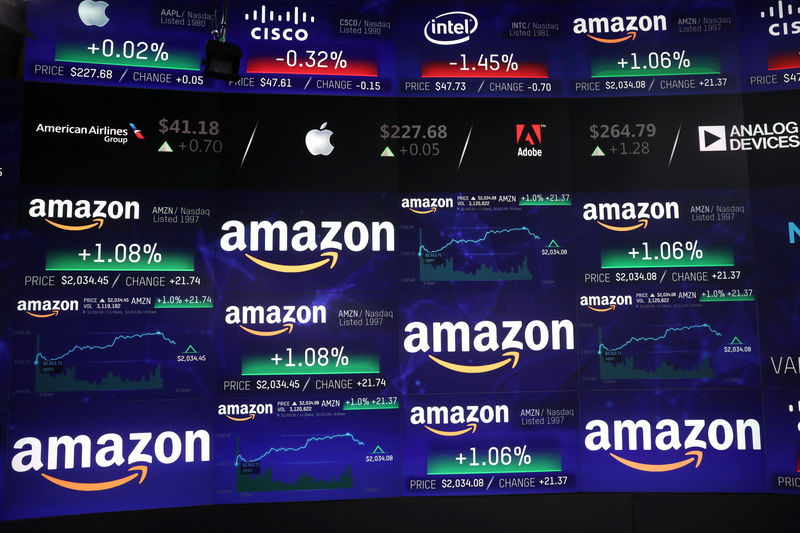 Amazon Climbs on Positive Signs for E-Commerce Sales