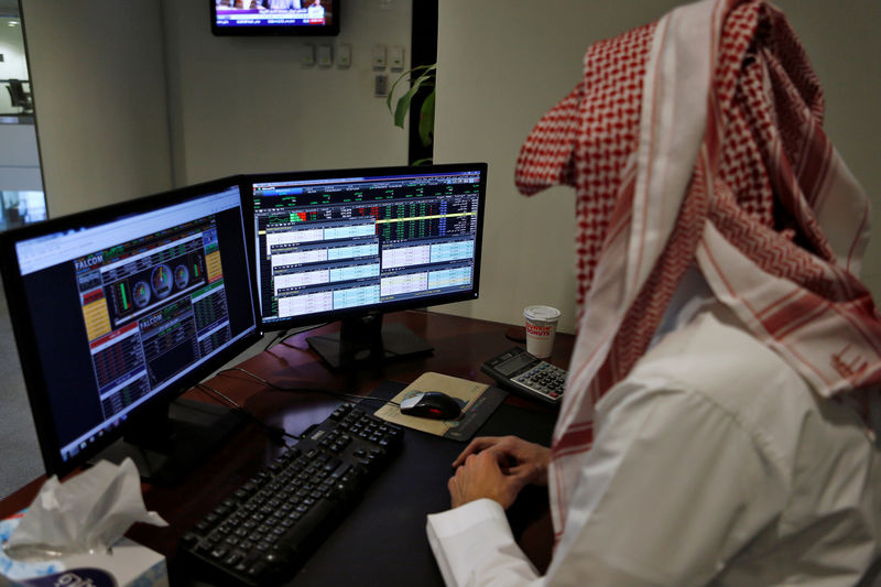 © Reuters.  Saudi Arabia stocks higher at close of trade; Tadawul All Share up 0.11%