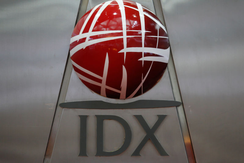 © Reuters.  Indonesia stocks higher at close of trade; IDX Composite Index up 0.52%
