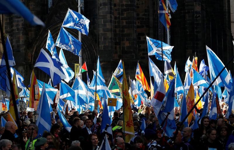 Первый министр Шотландии заявила о намерении провести в 2020 году второй референдум о независимости