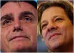 Bolsonaro vai a 59% e Haddad a 41%, mostra pesquisa eleitoral do BTG