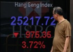 Bursa di China Tumbang, Hang Seng Kena Pukul Mogok Massal