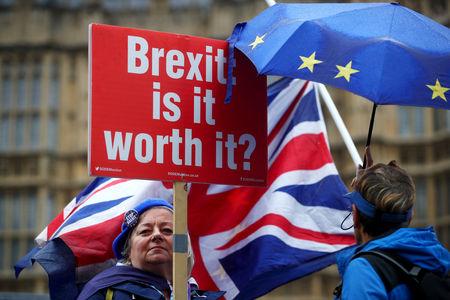 'Collaborators' are undermining Britain's Brexit bet, PM says