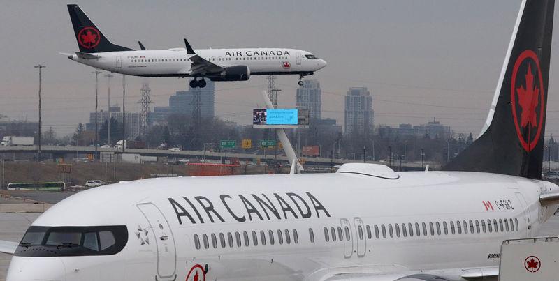BRIEF-Air Canada Says Q3 Passenger Demand In China Remains Somewhat Li