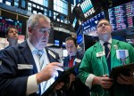 Stocks - Dow Pares Losses as Traders Bet on Fed Rescue