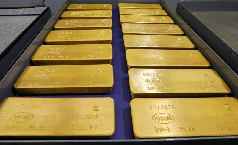 Gold Advances as Investors Weigh Bond Yields, Retail Sales By Bloomberg