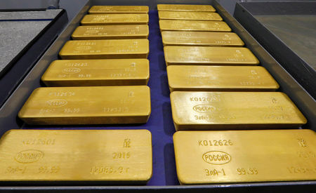 Gold gains on Middle East tensions; palladium hits record high