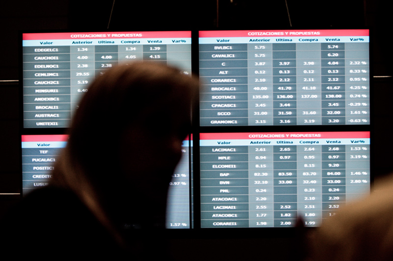 Рынок акций  Перу закрылся ростом, S&P Lima General прибавил 0,38%