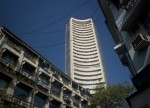 India shares lower at close of trade; S&P CNX Nifty down 0.13%