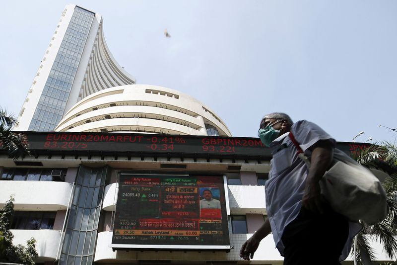 India stocks lower at close of trade; Nifty 50 down 0.37%