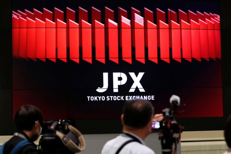 © Reuters Japan stocks lower at close of trade; Nikkei 225 down 1.06%