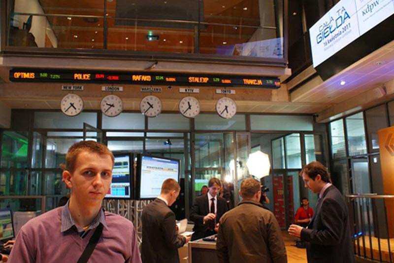 Polen Aktien waren tiefer zum Handelsschluss; WIG30 verlor 1,34%