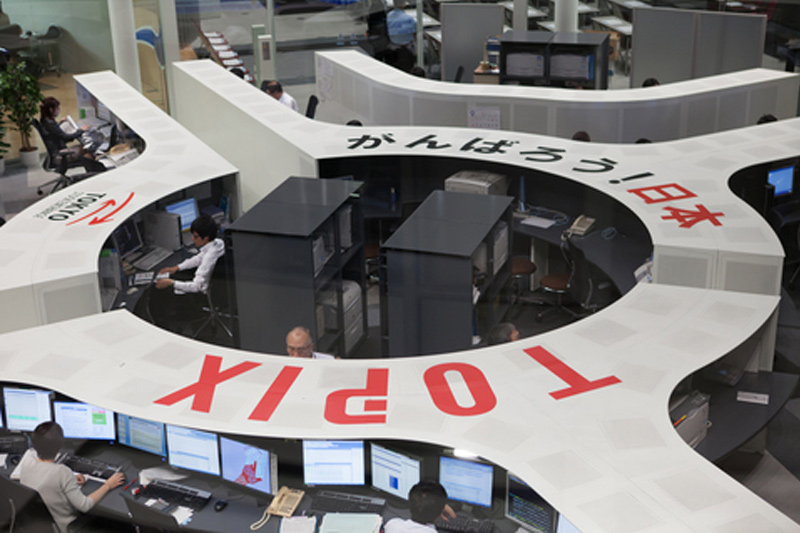 Bolsa de Tóquio: Nikkei abre praticamente estável