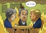 Wekelijkse strip: markten stoïcijns onder Brexit drama en Shutdown V.S.
