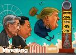 الكاريكاتير: وول ستريت تنتعش، ولكن تهديدات حرب التجارة والفيدرالي ما زالت قائمة
